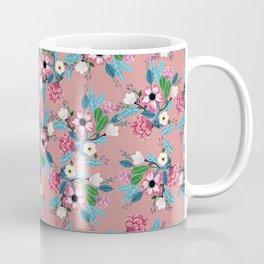 Pink Rose Garden Coffee Mug