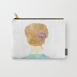 The vintage girl Carry-All Pouch