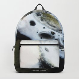 Spirit Wolf - Original Abstract Painting Backpack