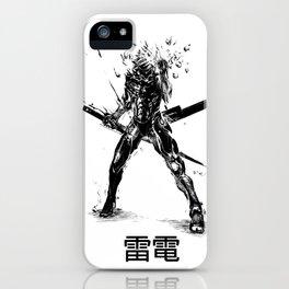 雷電-Raiden iPhone Case
