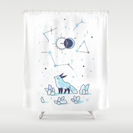 Arctic Nights Shower Curtain
