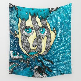 drip of confusion Wall Tapestry