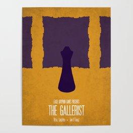 The Gallerist - Minimalist Board Games 06 Poster