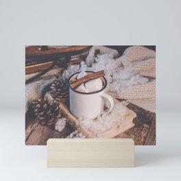 Hot Chocolate on a Winter's Day Mini Art Print