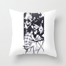Submerged Throw Pillow