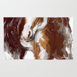 Paint Horse. Rug