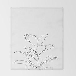 eucalyptus Throw Blanket