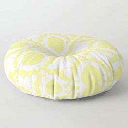 HELLO YELLOW - DAMARIS MORROCCAN PATTERN by MS Floor Pillow