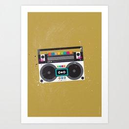 Sound Art Print
