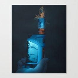Magic Vape Canvas Print