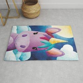 Lucy Liunicorn - Unicorn - Magical - Nursery - Fantasy Rug