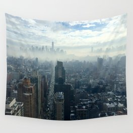 More Fog Less Smog Wall Tapestry