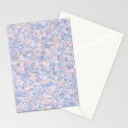 Light pink and blue popcorn 4647 Stationery Cards