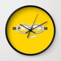 minion Wall Clocks featuring MINION by Acus