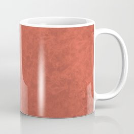 Pantone Living Coral, Liquid Hues, Abstract Fluid Art Design Coffee Mug