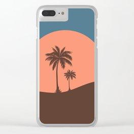 California Sun Clear iPhone Case
