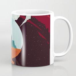 NASA Visions of the Future - Beautiful Southern Enceladus Coffee Mug