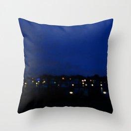 Marina Lights Throw Pillow