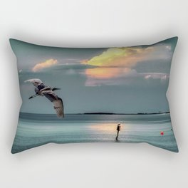 Clearwater Sunset Rectangular Pillow