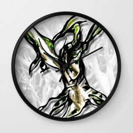 Let Your Roots Guide You Wall Clock