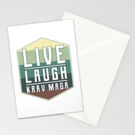 Live Laugh Krav Maga Stationery Cards
