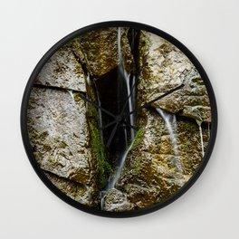 Leaking Wall Wall Clock