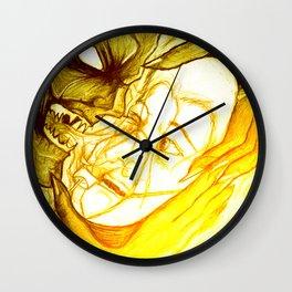Fear - 001 Wall Clock