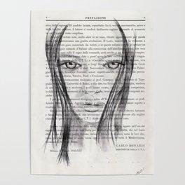 Nina - Pencil drawing Poster