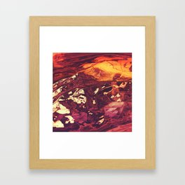 Mammoth Collide Framed Art Print