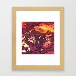 Mammoth Collide Framed Art Print