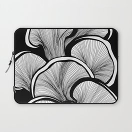 Mushrooms in black and white Laptop Sleeve