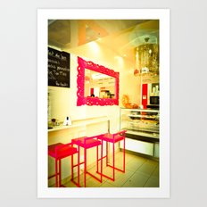 sweet Paris Art Print