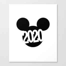 > 2 0 2 0 Canvas Print