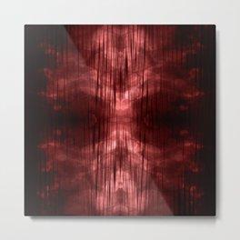 Al-ien Red Metal Print