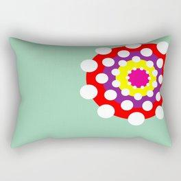 Dotty Circle Rectangular Pillow