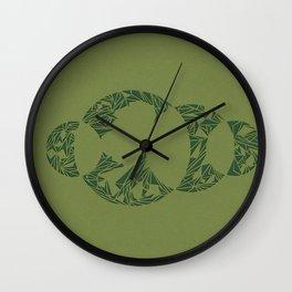 Lunacy (Green) Wall Clock