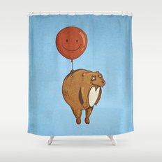 Float On, Bear, Float On Shower Curtain