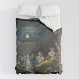 Currier amp Ives PublisherThe fairies home Comforters