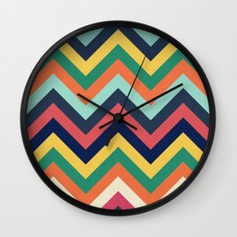 Chevron 24 Wall Clock
