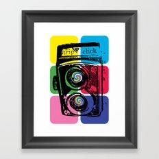 Trip Click Framed Art Print