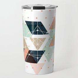 Midcentury geometric abstract nr 011 Travel Mug
