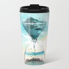 11th Hour Glass Metal Travel Mug