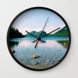 Jordan Pond - Acadia National Park Wall Clock