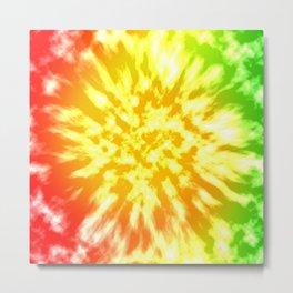 Reggae Tie Dye 1 Metal Print