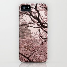 Pink Himeji Dream iPhone Case