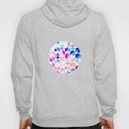 pink triangles Hoody
