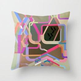 Maskine 1 Throw Pillow