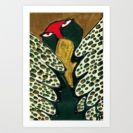 my feather Art Print