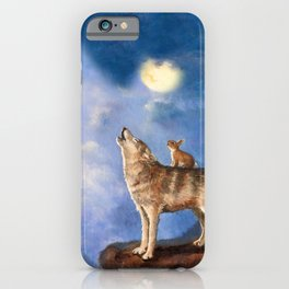 Isabella Sings to the Moon iPhone Case