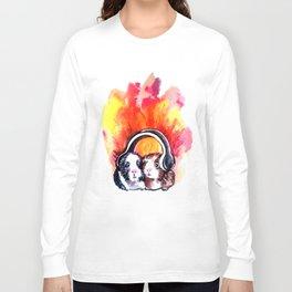 Guinea Pigs Music Long Sleeve T-shirt